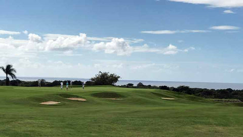 "Another perfect golf day at ""Dye Fore"" Casa de Campo"