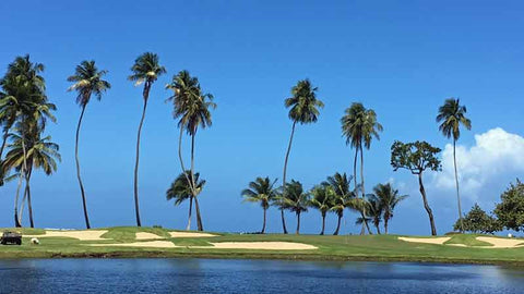 The ocean 5th hole at Dorado Beach East