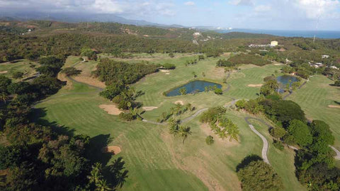 Aerial view of El Conquistador Golf Course