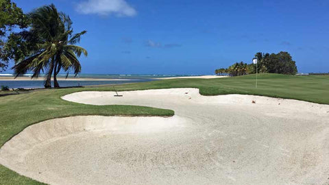 Ocean hole Coco Beach International Golf course
