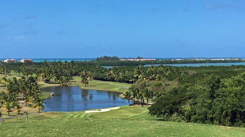 View from 8th teebox Coco Beach International Course