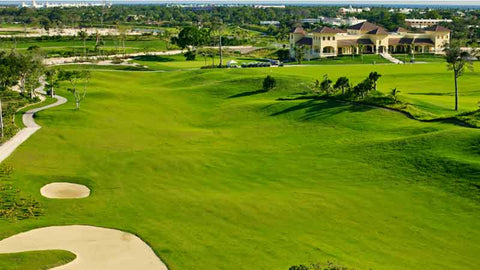 Lush fairways Punta Cana Iberostar Golf Course