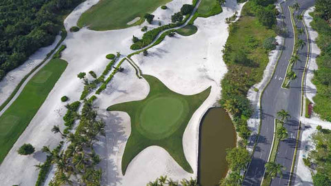 Signature hole at Iberostar Punta Cana