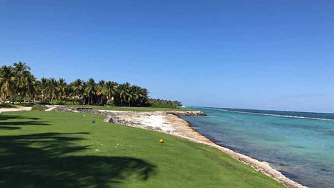 La Cana Golf Course offers many ocean golf holes to play