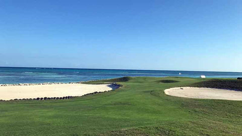 Ocean holes at La Cana Golf Course