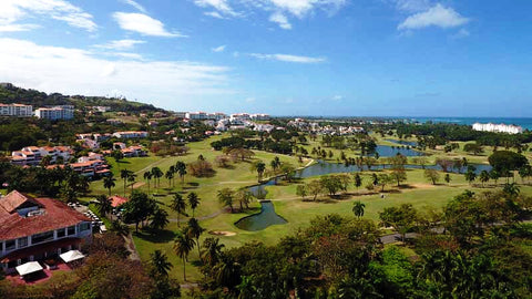 Rio Mar Ocean Course aerial view