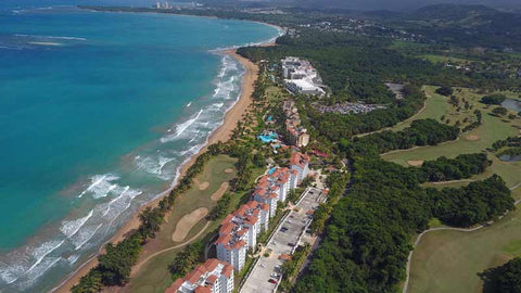 Aerial view of Rio Mar Golf Course