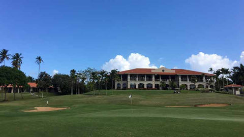 Clubhouse at Dorado Beach Golf, Three courses to play