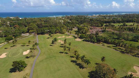 "Perfect golf day at Dorado Beach ""Pineapple"" Course"