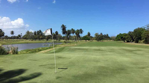 Golf Dorado Beach today with Caribbeanteetimes.com