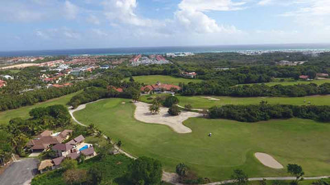 Punta Blanca golf course aerial view
