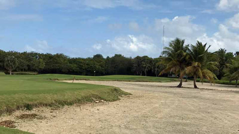 Golf today at Punta Cana in Dominican Republic