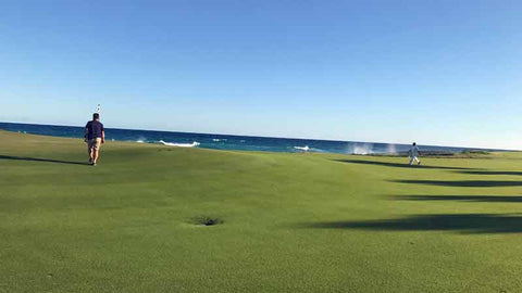 golf near ocean at punta espada