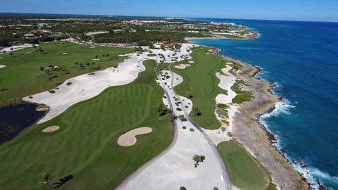 Punta Espada offers 8 ocean holes of golf
