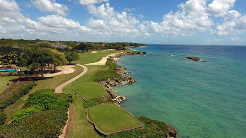 "Casa de Campo ""Teeth of the Dog"" signature hole"