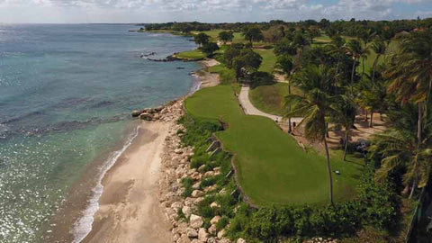 "Casa de Campo ""Teeth of the Dog"" 7 ocean holes"
