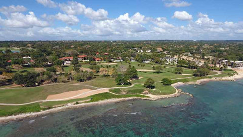 "Ocean golf at Casa de Campo ""Teeth of the Dog"""
