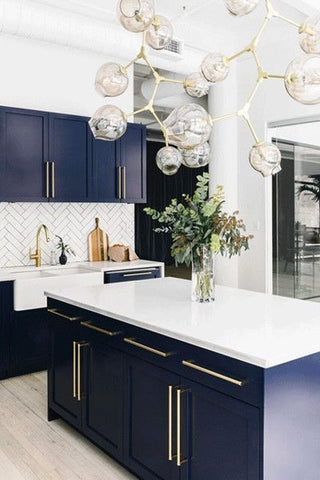 Navy Blue Kitchen Cabinets - with hmcabinetry.com - Home