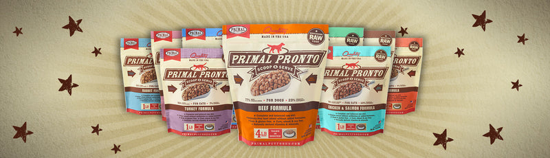 New to Raw? Try Primal Pronto Formulas.