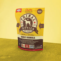 Canine Raw Frozen Patties <br> Rabbit