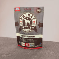 Canine Raw Frozen Patties <br> Venison