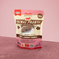 Canine Raw Frozen Pronto <br> Turkey & Sardine