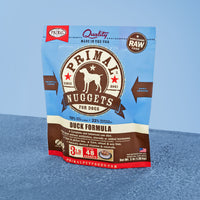 Canine Raw Frozen Nuggets <br> Duck
