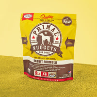 Canine Raw Frozen Nuggets <br> Rabbit