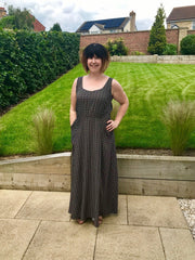 Experimental Space - Rosalee Maxi Dress: My Pattern Testing Experience