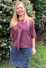 Sewing Pattern Review: Size:Me Vienne Blouse