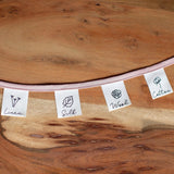 Kylie and the Machine: Natural Fibres Collection Woven Labels - Pack of 8