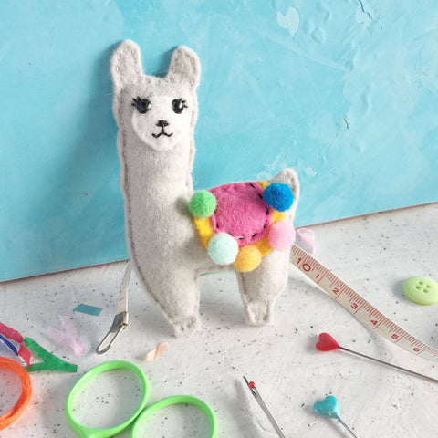 The Make Arcade: Lennie Llama Felt Sewing Kit