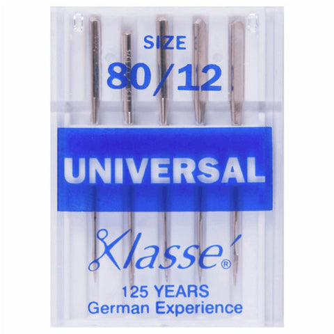 Klasse Universal 80/12 Machine Needles (5pcs)