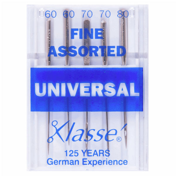 Klasse Universal Fine Mix Machine Needles (5pcs)