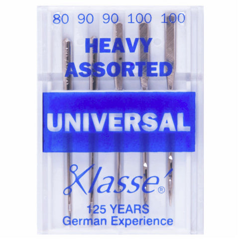 Klasse Universal Heavy Mix Machine Needles (5pcs)
