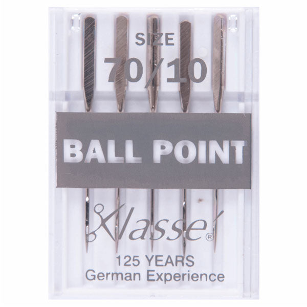 Klasse Ball Point 70/10 Machine Needles (5pcs)