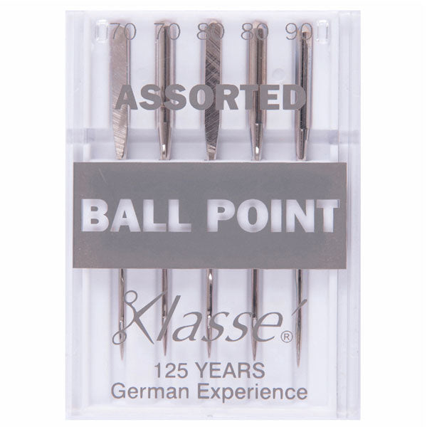Klasse Ball Point Assorted Machine Needles (5pcs)