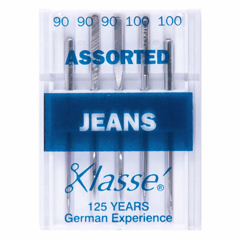 Klasse Jeans Assorted Machine Needles (5pcs)