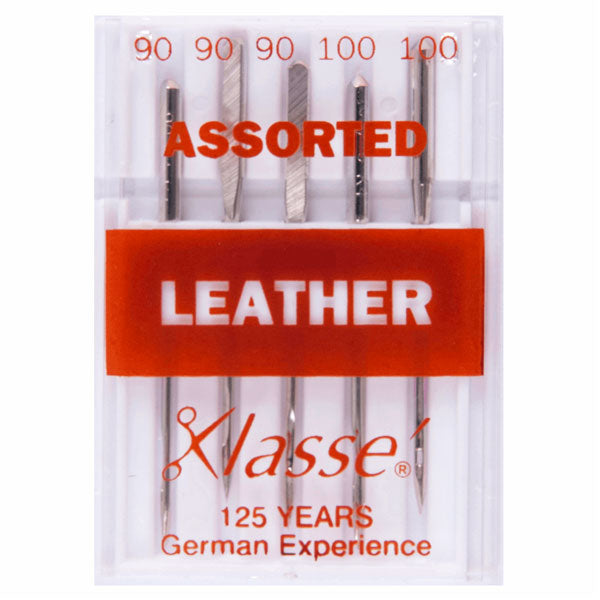 Klasse Leather Assorted Machine Needles (5pcs)