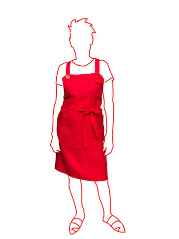 Alice & Co: Adele Apron Dress (PDF Only)