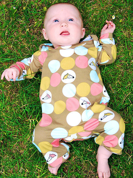 Two Stitches: Grow Babygrow Sewing Pattern
