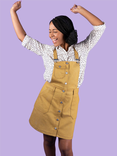 Tilly and the Buttons: Bobbi Skirt & Pinafore Sewing Pattern