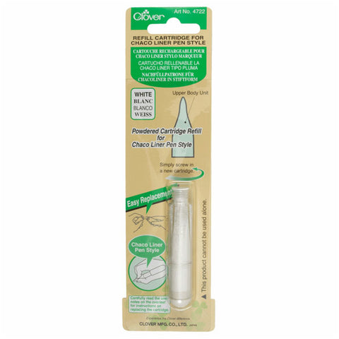 Clover Refill Cartridge for Chaco Liner Pen Style (White)