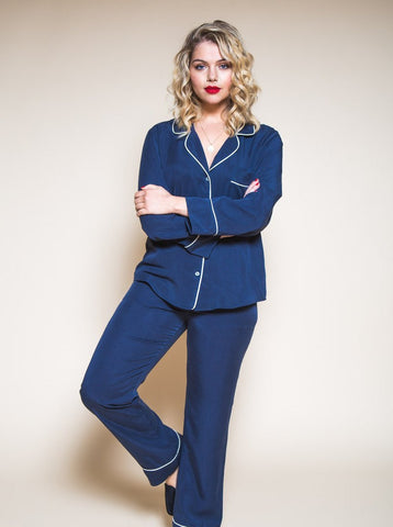 Closet Core Patterns: Carolyn Pyjamas Sewing Pattern