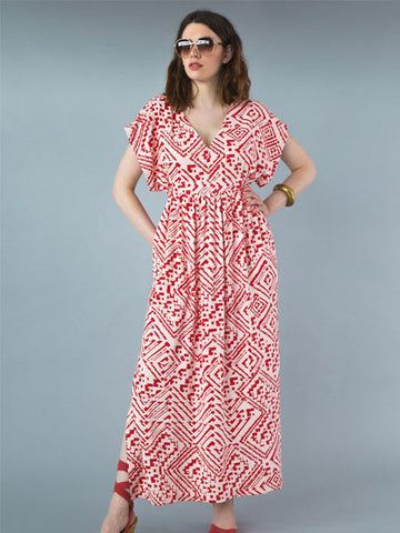 Closet Case Patterns: Charlie Caftan Sewing Pattern