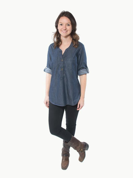 Hey June Handmade: The Cheyenne Tunic Sewing Pattern (PDF Only)