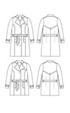 Cashmerette: Chilton Trench Coat Sewing Pattern