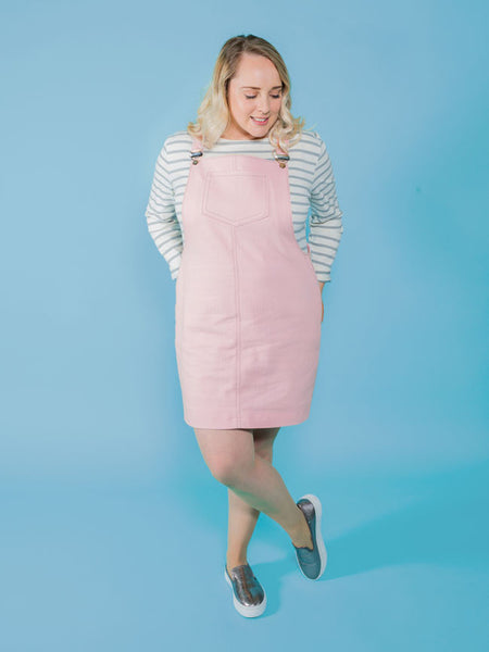 Beginners Dressmaking Workshop - Tilly & the Buttons Cleo Dungaree Dress or Stevie Tunic