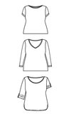 Cashmerette: Concord T-Shirt Sewing Pattern