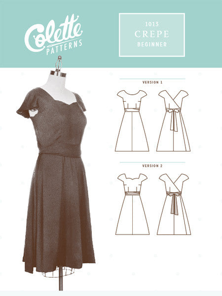 Colette Patterns: Crepe Dress Sewing Pattern